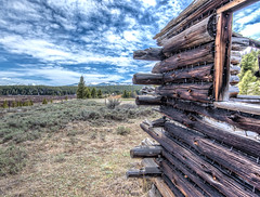 Nailed It (noelfleming) Tags: buena vista colorado old cabin home