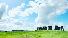 Stonehenge, London (rosyastarita) Tags: summer england cloud green london nature natura agosto stonehenge londoncity