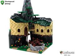Mountsground Passage (Biczzz) Tags: mountain castle portugal lego medieval fantasy passage biczzz comunidade0937 lusitanis