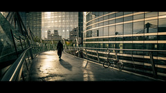 Blade Runner (Thierry Hudsyn) Tags: urban paris reflections widescreen cinematic reflets ladfense canon6d cinematicphotography ef1635mmf4lisusm