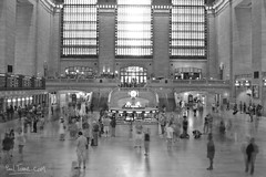 Grand Central Station (Paal Tonne) Tags: new york city nyc bw usa white ny black monochrome station photography design coast photo united central grand east use states tonne paal paaltonnecom