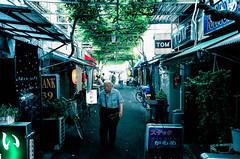 164/366 : Natural green shade (hidesax) Tags: street leica green japan tokyo bars x asakusa wisteria taitoku vario anoldman 365project 366project 164366 hidesax 366project2016 naturalgreenshade