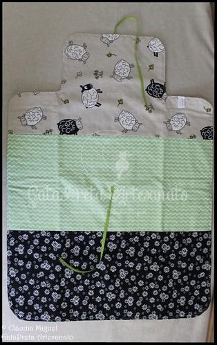 """Conjunto de maternidade """"Ovelhinhas Saltitantes"""""""