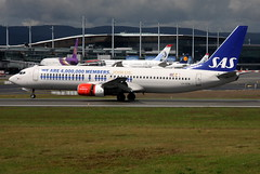 SAS LN-RPM, OSL ENGM  Gardermoen (Inger Bjørndal Foss) Tags: lnrpm sas scandinavian boeing 737 osl engm norway gardermoen