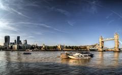 London (neilalderney123) Tags: bridge london water thames landscape wide fisheye fishie samyang 2016neilhoward
