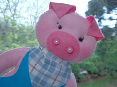 TRS PORQUINHOS (Gaia Artesanatos) Tags: pig feltro festinha porquinho zezinho tinho trsporquinhos qunho nomeemfeltro festadascorujas festatrsporquinhos feltropeppapig