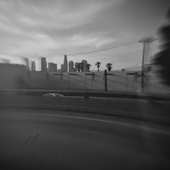 HipstaPrint (Neddie Facio Photography) Tags: blackandwhite skyscape pinhole stuckintraffic ontheroad aristotle photooftheday laskyline makebeautiful hipstamatic hipstaoftheday frwy10 pennylens
