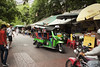 (by claudine) Tags: world asian thailand travels asia photos bangkok unique culture tourist exotic transportation nightmarket thai motorcycle tuktuk moped attraction customs expat khaosanroad travelphotography nightbazaar byclaudine
