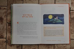 Lugemist (anuwintschalek) Tags: summer home june buch island austria book kuh cow sommer insel 40mm spanisch niedersterreich saar kodu suvi ariadna 2016 lehm wienerneustadt micronikkor raamat nikond90 hispaaniakeel