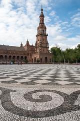 Plaza de Espaa - IV (RaminN) Tags: sevilla spain seville plazadeespaa