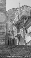 Petralia (Lord Seth) Tags: 2015 d5000 lordseth petralia sicilia bw biancoenero borgo cattedrale chiesa italy mariacristinafaso medievale nikon