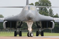 (scobie56) Tags: rockwell b1b lancer 850090 7th bomb wing dyess afb texas 28th ellsworth south dakota air force global strike command usaf united states riat fairford 2007