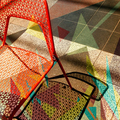 sit here (msdonnalee) Tags: shadow chair sombra ombre silla arrow fx schatten chaise stuhl digitalfx chairshadow pixlroverlay