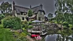 New Forest (nickcross2906) Tags: newforest hampshire thatch cottage house hdr