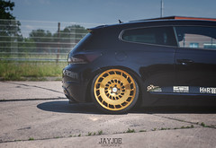VW SCIROCCO R (JAYJOE.MEDIA) Tags: vw volkswagen low r static lower lowered slammed stance lowlife scirocco bagged airride stanced rotiform