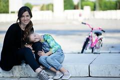 Serenity ( pix&love) Tags: relax estate foro riposo mamma bici dolcezza stadioolimpico foroitalico d610 serenit pixlove