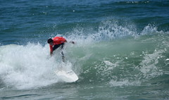 WSL Longboard Pro Surf Competition - Gaia, Portugal (sweetpeapolly2012) Tags: sea hot beach water sand surf waves surfer sunny surfing surfboard longboard pro surfmachine longboarders longboarder prosurf