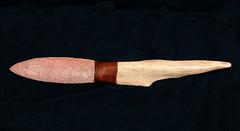 Flint knife (MCAD Library) Tags: knives flintknapping toolsprehistoric weaponsprehistoric