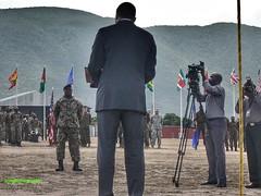 Pol/Mil Worlds (Halcon122) Tags: color us media military kingston caribbean ja exercises primeminister armedforces jdf tradewinds holness southcom upparkcamp olympustg860
