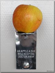 Always remember ... (Badenfocus_Thanks for 650k views) Tags: apple hamburg hafen landungsbrcken stpauli apfel pomme hotelhafenhamburg badenfocus