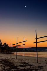 Anochece en Redes (Cobalto :)) Tags: sunset beach colors pentax alba playa luna galicia cielo ocaso k5 redes anochece goldenawardlostcontperdidos silverlostcontperdidos