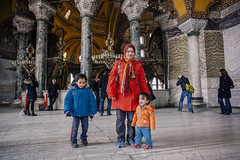 Istanbul | Ayasofya | Hagia Sophia (wazari) Tags: city travel art history classic architecture photoshop vintage turkey photography ancient asia europe european place artistic ataturk minaret islam faith religion culture istanbul mosque retro photograph adobe journey dome destination historical ottoman taksim middleages hagiasophia secular turkish byzantine bosphorus masjid asean cultural turk sultanahmet traveler galata constantinople islamicart ayasofya travelphotography galatatower stamboul travelphotographer wazari senibina wazariwazir