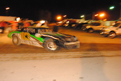 Quick left front change (Joe Grabianowski) Tags: street ny cars stock racing dirt modified oval ransomville dirtcar