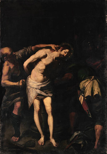 Ribalta, Francisco (1565c.-1628) - 1620c. Christ at the Column (Christie