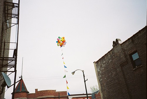 Balloons in Bridgeport