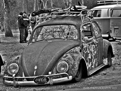 Rusty ( B.H.B. PHOTOGRAPHY ) Tags: show blackandwhite black vw volkswagen flickr cocacola lowered volkswagenbug ratrod volkswagenbeetle blackandwhitepicture 2013 blackwhitephotos bhbphotography bhbphotography loweredvwbug volkswagensofflickr