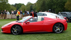 Ferrari 458 Spider (Kathryn Dobson) Tags: cars car spider kent automobile ferrari leedscastle supercar motoring 458 supercarsiege