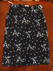 DOROTHY PERKINS FLOWER SKIRT SIZW 20 - EBAY (thank_you_vb) Tags: women ebay auction clothes thankyouvb