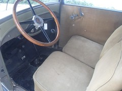 29ChevyModelAC_0k_front_seat (Monaco Luxury) Tags: original barn 5 pass international chevy drives runs ac coupe find completely 1929