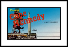 NASA Postcard Folder, 1964 (Cosmo Lutz) Tags: postcard nasa capecanaveral 1964 capekennedy