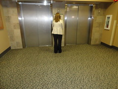 waiting for an elevator (Lynn Kelley Author) Tags: lobby elevators waitingforelevator lynnkelley lynnkelleyauthor curseofthedoubledigits bbhmcchiller monstermoonmysteries wanatribe