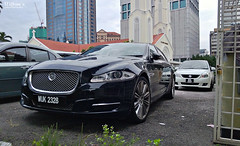 James Bond at Skyfall (Jason Wilton) Tags: black car james automobile metallic malaysia bond gloss jaguar kuala kl luxury lumpur xjl skyfall httpswwwfacebookcomwiltonsphotography