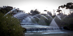 Spray of moments (E7isa) Tags: rome fountain waterfall eur