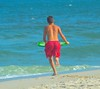 July 10th Upload (victoria97walker) Tags: ocean boy running teen athlete skimboarding skim skimboarder