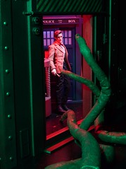 Time to say goodbye (MiskatonicNick) Tags: toys dolls doctor doctorwho actionfigures 16 11th tardis diorama tentacles mattsmith sixthscale