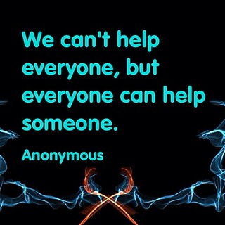 Everyone can #help