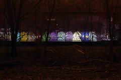 WUNDR (The Braindead) Tags: art minnesota train bench photography graffiti painted tracks minneapolis rail explore beyond the
