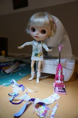 My cleaning maid Tippi