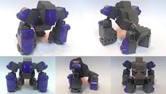 GDR-1 IIa (dark_syntax) Tags: lego gorilla mecha mech multiped microscale mechaton mfz mf0 mobileframezero