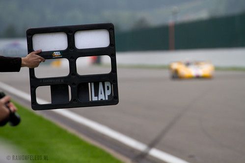 Counting down the laps