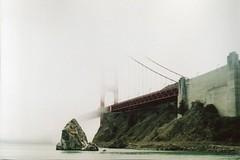 (teacup_dreams) Tags: california bridge film fog golden gate san francisco chinon