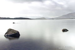 Rocks (DMeadows) Tags: lake reflection water rock stone reflections scotland rocks long exposure shadows stones hill bank surface hills reflect shore overexposed loch overexposure hillside liquid overexpose sallochy davidmeadows dmeadows davidameadows dameadows