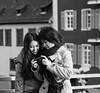 Heidelberg (edi025) Tags: show street new city travel summer vacation portrait urban woman sun white black color tree art look canon photography for raw photos spiegel smoke 600d streetfotgrafir