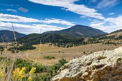 LeTexier Ranch II (Chris Le Texier) Tags: ranch trees rock canon montana basin evergreen dirtroad mountians cataractcreek 60d letexier