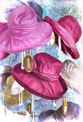 Hats (Terry Pellmar) Tags: texture store digitalart hats digitalpainting hypothetical vividimagination artdigital trolled sharingart awardtree artistictreasurechest magicunicornverybest exoticimage mygearandme netartii