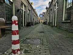 Kockstraat, Utrecht (mogromo) Tags: street holland netherlands utrecht pillar nederland straat the paaltje kockstraat